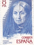 Stamps : Europe : Spain :  Fernan Caballero      (E)