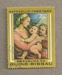 Stamps Africa - Guinea Bissau -  Cuadro de Rafael