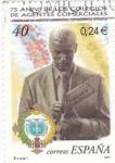 Sellos de Europa - España -  75 aniversario de los colegios de Agentes Comerciales     (E)