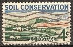 Sellos de America - Estados Unidos -  Conservación de Suelos.