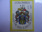 Sellos de America - Colombia -  escudo de Armas de San Juan de Pasto.