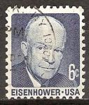 Sellos del Mundo : America : Estados_Unidos :  Dwight D. Eisenhower.