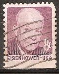 Sellos de America - Estados Unidos -  Dwight D. Eisenhower.