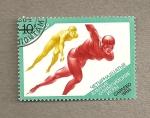 Stamps Russia -  Velocidad en patinaje sobre hielo