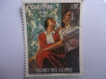 Stamps Colombia -  PEDRO NEL GÓMEZ.-- ESPOSOS--