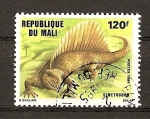 Stamps Africa - Mali -  Animales Prehistoricos / Dimetrodon.