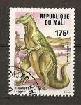 Stamps Africa - Mali -  Animales Prehistoricos / Iguanodon.