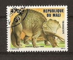 Stamps Africa - Mali -  Animales Prehistoricos / Triceratops.