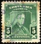 Sellos del Mundo : America : Costa_Rica : Franklin D. Roosevelt.