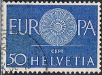 Sellos de Europa - Suiza -  EUROPA 1960. Y&T Nº 667