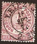 Sellos del Mundo : Europa : Alemania : Clásicos - Confederación Alemana del Norte