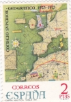 Stamps Spain -  Consejo Superior Geográfico 1923-1973    (E)