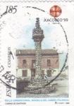 Sellos de Europa - España -  camino de Santiago Xacobeo-99     (E)