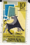 Sellos de Europa - España -  Día mundial del sello 1965     (E)