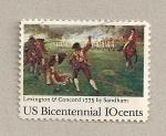 Sellos de America - Estados Unidos -  Bicentenario de Estados Unidos
