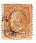 Stamps United States -  Franklin Ed 1912