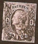Stamps Europe - Germany -  Clásicos - Sachsen
