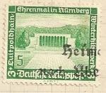 Stamps Germany -  Memorial en Nuremberg