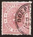 Stamps Europe - Germany -  Clásicos - Württemberg