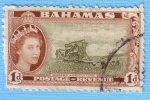 Stamps : America : Bahamas :  Modern agriculture