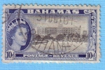 Stamps : America : Bahamas :  Modern hotels