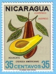 Stamps Nicaragua -  Aguacate