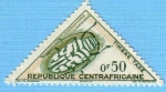 Stamps : Africa : Central_African_Republic :  Sternotomis Virescens