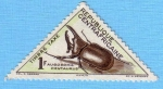 Stamps : Africa : Central_African_Republic :  Augosoma Centaurus