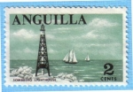 Stamps : America : Anguila :  Sombrero Lighthouse