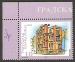Stamps Europe - Macedonia -  274 - Edificio típico
