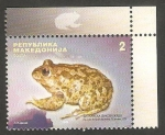 Stamps Europe - Macedonia -  499 - Sapo de los Balcanes