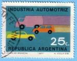 Sellos de America - Argentina -  Industria Automotriz