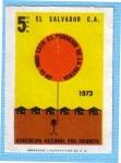 Stamps : America : El_Salvador :  Asociación Nacional pro-infancia