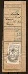 Stamps : Europe : Spain :  Recibo de Giro Telegrafico.