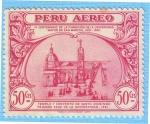 Stamps : America : Peru :  Templo y convento de Santo Domingo