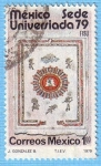 Stamps Mexico -  Sede Universiada