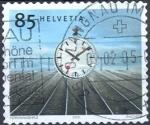 Sellos de Europa - Suiza -  Design / Clocks