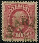 Stamps Europe - Sweden -  Oscar II
