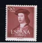 Stamps Spain -  Edifil  1108  V Cente. del nacimiento de Fernando el Católico.
