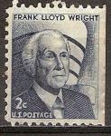 Sellos de America - Estados Unidos -  Frank Lloyd Wright (1869-1959).