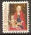 Sellos del Mundo : America : Estados_Unidos : Navidad. Virgen y el Niño.