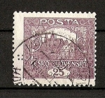 Stamps Europe - Czechoslovakia -  Castillo de Praga./ Republica.