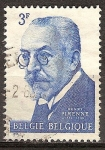 Sellos del Mundo : Europa : Bélgica : Henri Pirenne.