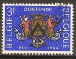 Sellos del Mundo : Europa : Bélgica : Milenario de la ciudad de Ostende.