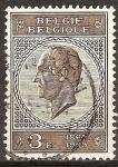 Sellos de Europa - Bélgica -  Centenario del Rey Leopoldo I (1790-1865).