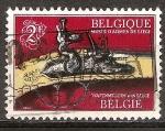 Sellos del Mundo : Europa : Bélgica : Museo de Armas, de Lieja. Parte de la pistola Cleuter.
