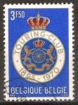 Sellos del Mundo : Europa : Bélgica : 75a Aniv del Real Automóvil Club de Bélgica.