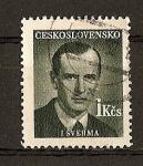 Stamps Czechoslovakia -  Homenaje a Escritores Nacionales.