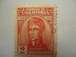 Sellos de America - Colombia -  ANTONIO  BARAYA.- 1768-1816