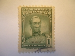 Stamps Colombia -  SIMÓN BILIVAR.